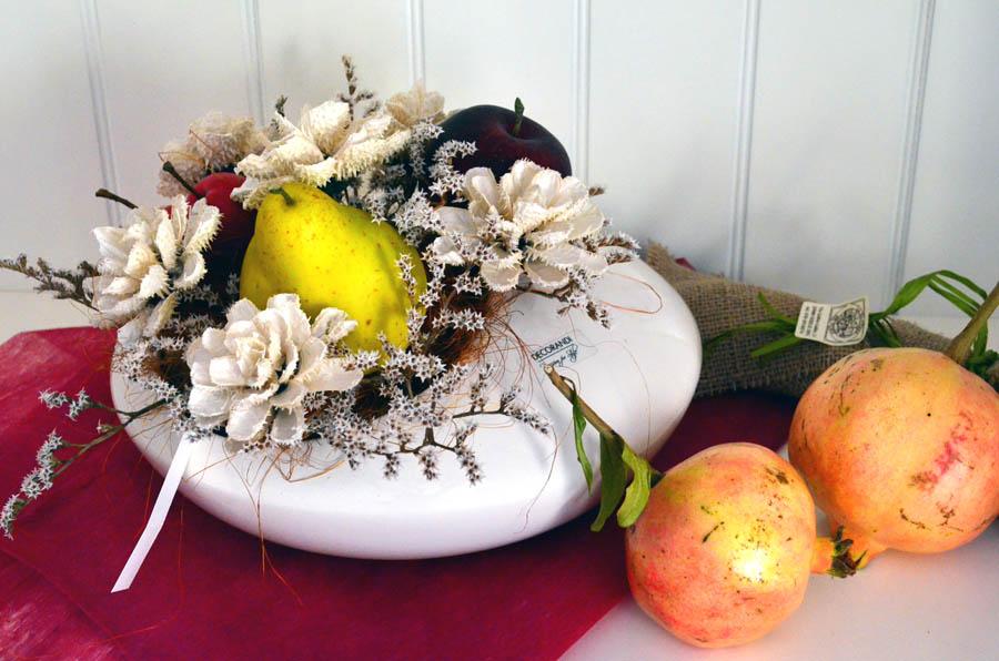 composizione floreale con frutta in stile autunnale (6)