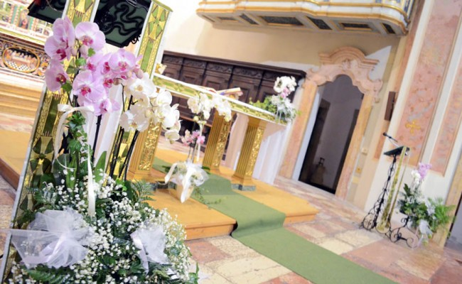 matrimonio con orchidee (2)