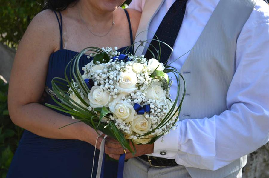 Matrimonio In Blu : Bouquet per sposa brescia bottega del fiorela