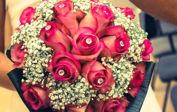 Le rose viola