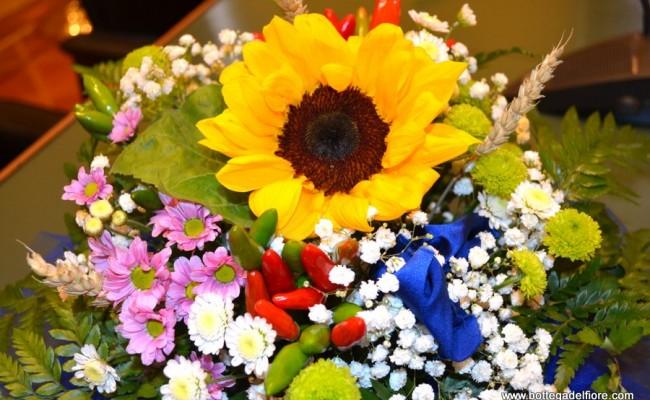 Centrotavola Con Girasoli Matrimonio : Allestimento floreale matrimonio con girasoli